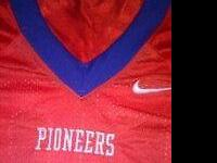 New Nike Platteville pioneers football jerseys. These
