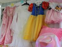 Little girls playing dress-up cloths ages 3-5.  1