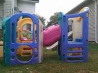 I am selling a 2 peice Little Tykes play equipment. It