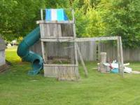 I have a play fort for sale. 200.00 and you take it
