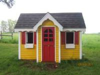 Play House. Your Kids will love it. It is about 6 ft