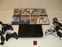 Up for sale is a Play Station 2 System with (3)