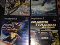14 play station games for everyone . Racing and others
