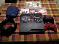 I got my PS3 and everything I have with it for sale!
