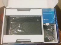 BRAND NEW PLAY STATION 4 500GB IN BOX STILL IN PLASTIC.