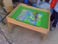 I have a compact play table (smaller than a train