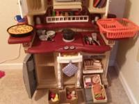 We are selling a Step2 Play Kitchen with lots and lots