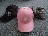 I have all 3 Playboy hats for sale. I would like to