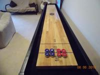 Shuffleboard purchased new December 2014 The Playcraft