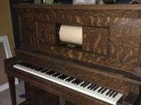 Upright players piano This ad was posted with the eBay