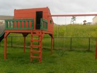 ***Playground for sale! It is custom made so you will