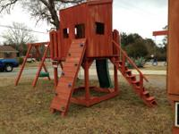 Prepare for summertime! Safe strong play ground sets