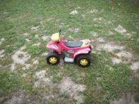 RED FOUR WHEELER $25 PURPLE FOUR WHEELER $25 SLIDE