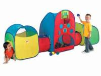 Popup play-tents, various configurations, not just the