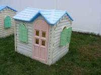 I have 2 Little tike playhouses asking 30 obo each