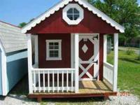 We build all kinds of buildings, including playhouses.