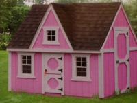 Highway 6 Buildings has PLAYHOUSES in three adorable