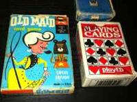 Old maid Animal Rummy Mini set of cards asking price