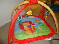 selling my baby's playmat which he no longer needs and