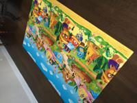 The BABY CARE Baby Play Mat provides a safe and