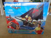 For Sale Playmobil Remote Control Pirate Ship for $65