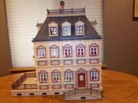 More photos coming!  Playmobil Victorian Dollhouse - we