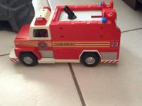 Iam selling the Playmobilfiretruck with fireman and