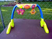 For sale is a Playskool 2 in 1 Tummytime Floor Gym in