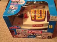 Kids run the store with the Playskool Store CD-ROM Play