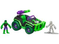 Take your HULK and SILVER SURFER figures into
