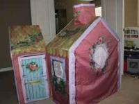 Playskool Rose Petal Cottage megapack available. Twin