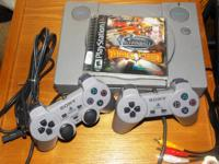 A working PlayStation 1 for sale for ONLY $25.00. I am