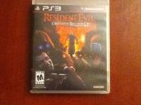 PlayStation 3 Resident Evil Operation Raccoon