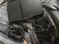 Playstation 2 with both power and av cord. Does turn,