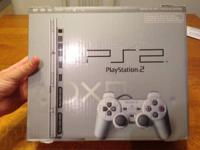 Offering my Complete in Box Playstation 2 Console. This