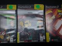 PlayStation 2 Games, $5 Each or Discounted Price on