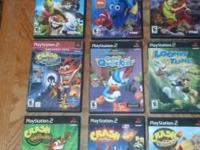 Playstation 2 video games for sale. All video games are