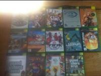 I am selling a Playstation 2, 17 games, 2 dual shock