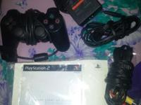 Exceptional condition on all. Playstation 2 cords and 1