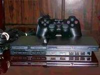 Great Condition pS2 Slim with all cords and a