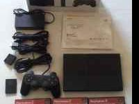 I am selling a PS2 slim that has hardly been used. It