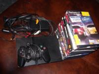 I am selling my playstation 2, with 11 games, and one