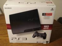 Playstation 3 160 GB model It has less than 5 hours of