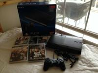 This ps3 is in like-new condition. Technically new due