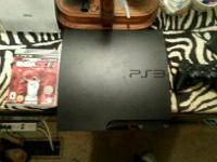 ps3, slim, 250gb, one controller, NBA 2k14 for free