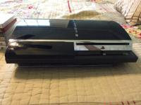 For sale is a 60 GB Playstation 3 and 11 video games.
