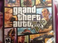 I'm selling my Playstation 3  Grand Theft Auto 5 (Brand