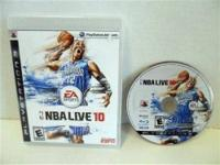 PS3 NBA LIVE 10  TEXT ME AT  IF INTERESTED