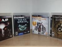 Selling some great PS3 and PS1 games this week!