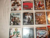 PS-3 games cheap. 10.00 per game  In new condition